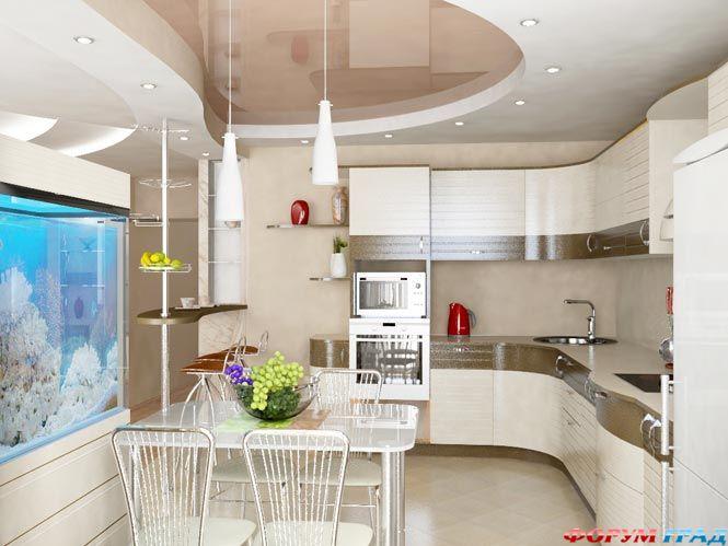 кухня очень красивая фото