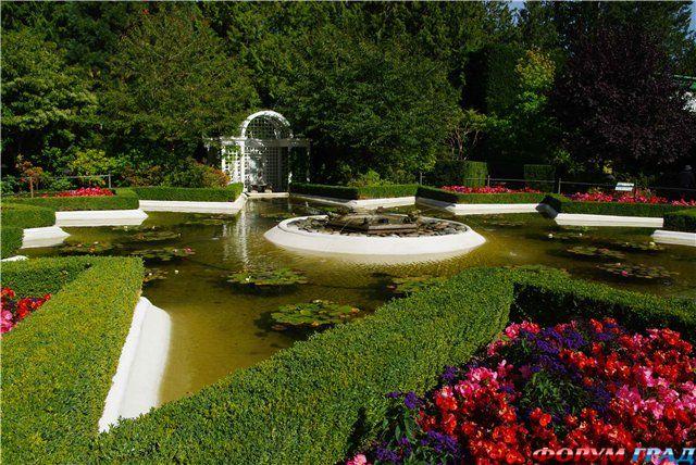 В итальянском саду можно создать.