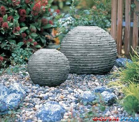 Садовые скульптуры шар своими руками - Foto-lis.ru