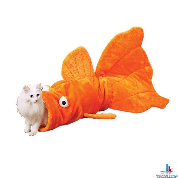 Домик для кота в виде рыбки
