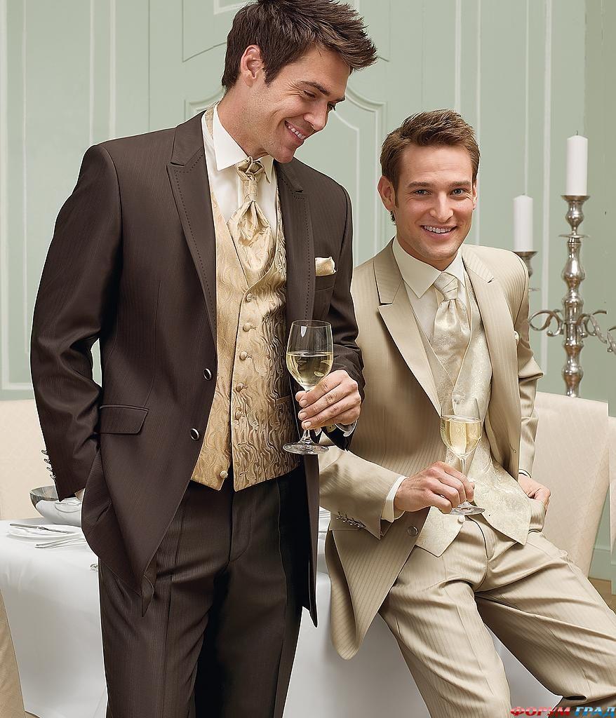 Костюмы мужские на свадьбу фото 7