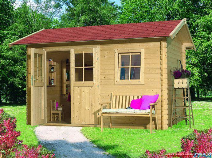 Как построить маленький садовый домик