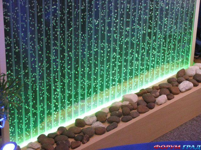 пузырьковые водопады своими руками для