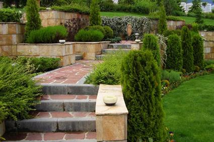 Все итальянские сады имеют четко просматриваемый геометрический рисунок и иногда напоминают