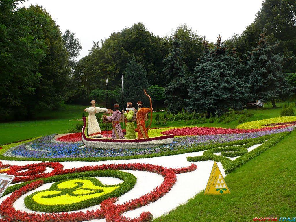 Выставка цветов в Киеве 1.