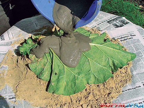 Поилка для птиц из бетона своими руками фото
