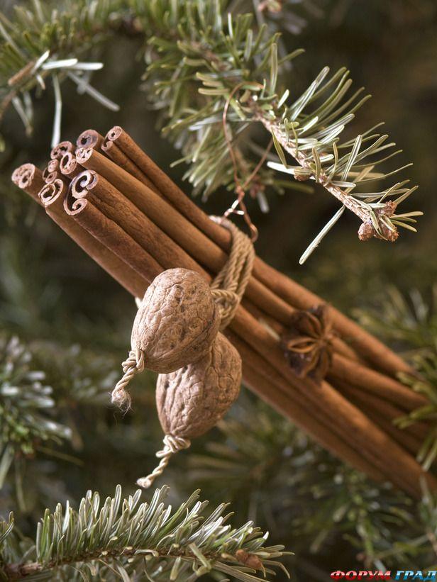 елка с пряным ароматом