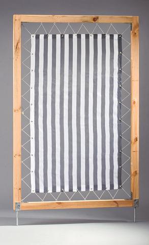 Сделать ширму из ткани