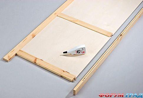 Как сделать деревянную ширму