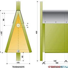 Треугольный скворечник