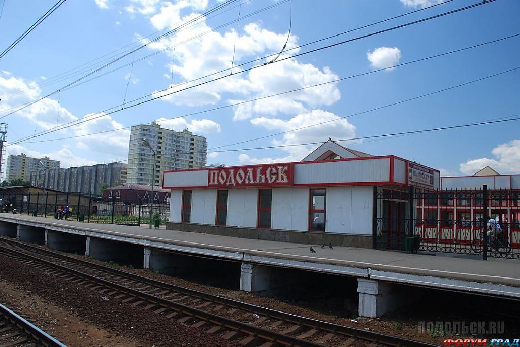 Реконструкция железнодорожных путей на Курском направлении.