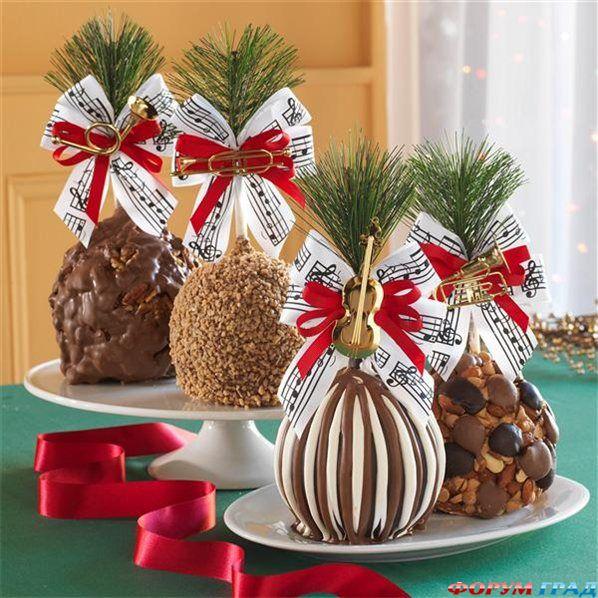 Карамельные  и  шоколадные  яблоки  Карамельные  яблоки  &  Сибирские  леденцы