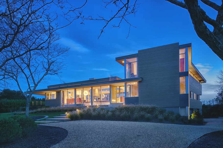 Красивые дома в США: стильный особняк от Stelle Architects