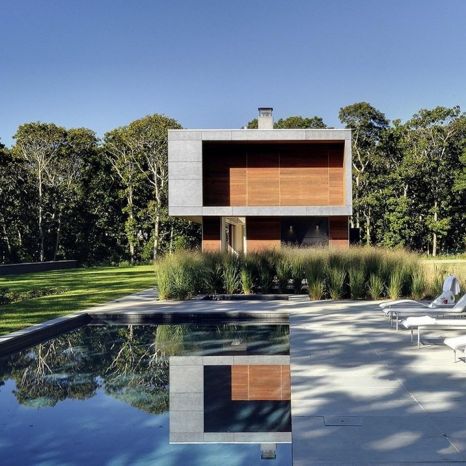 Потрясающий загородный дом в стиле кемпинга