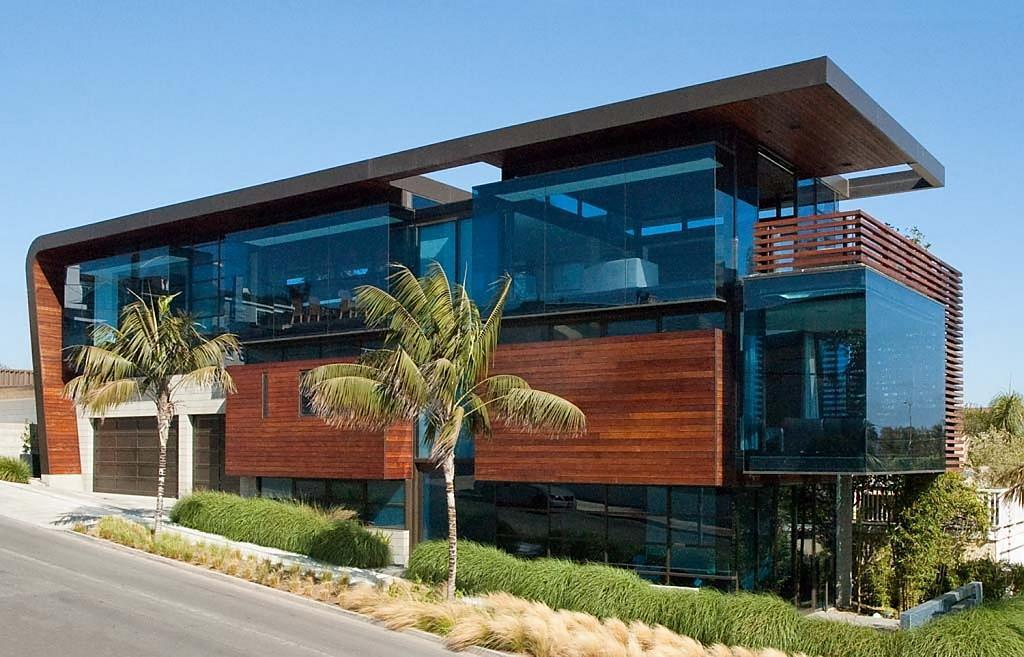Проект американского дома: роскошный особняк Residence Ettley в Лос-Анджелесе