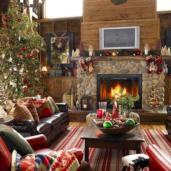 Размышления о новогодних украшениях для уютной гостиной - как счастливо встретить долгожданные праздники - Как украсить офис, ма