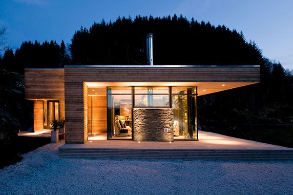 Интерьер норвежского дома для творческих людей