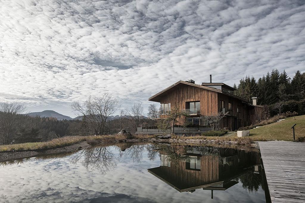 Деревенские дома: проекты и фото коттеджа в Австрии
