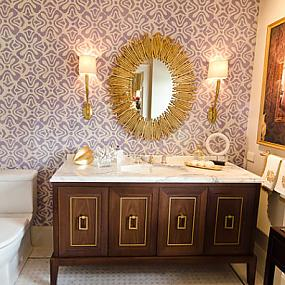 20 eye catching wallpapered rooms for sale