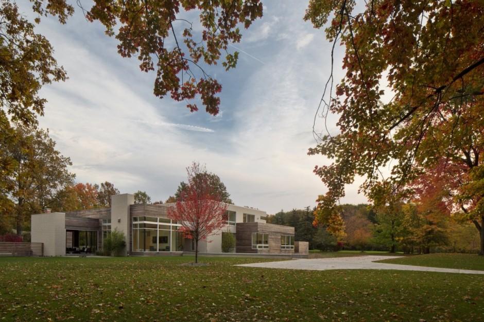 Американские дома: стильный уют просторного коттеджа в Огайо