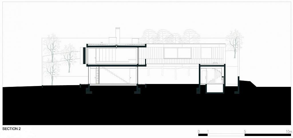 План загородного дома L23 в Португалии