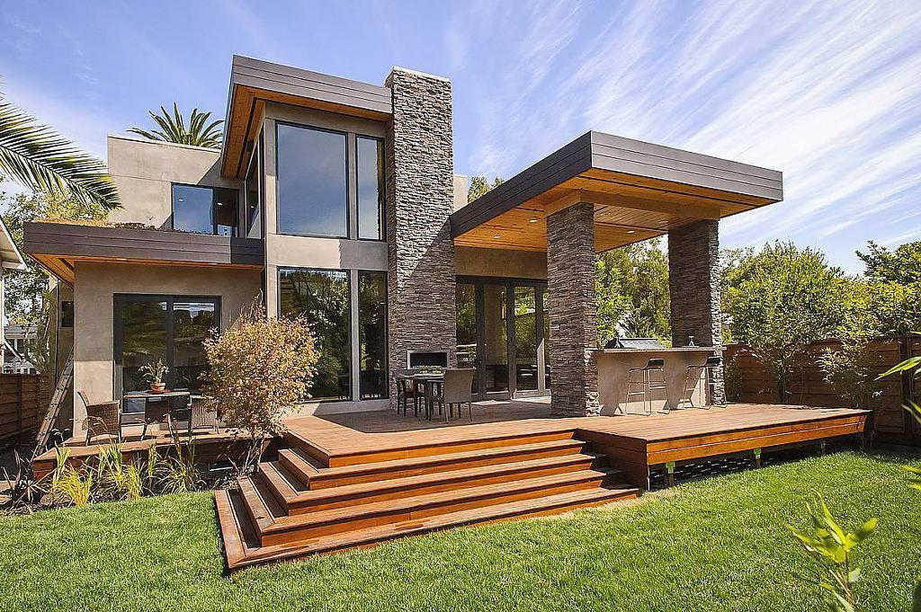Великолепный проект современной загородной резиденции