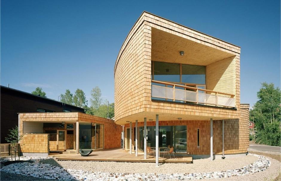 Чудеса современной архитектуры – дом-улитка