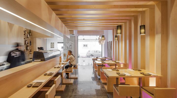 Строгость линий и простота форм– извечные традиции веков в японском ресторане Sushi Pearl