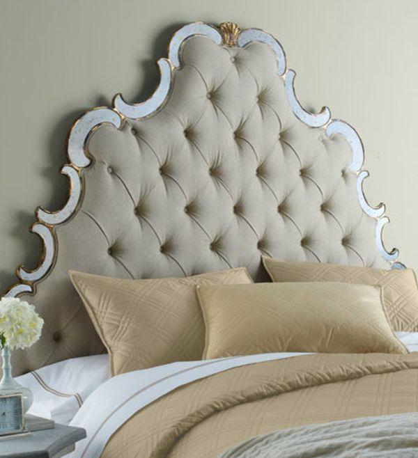Кровать с мягкой спинкой своими руками фото