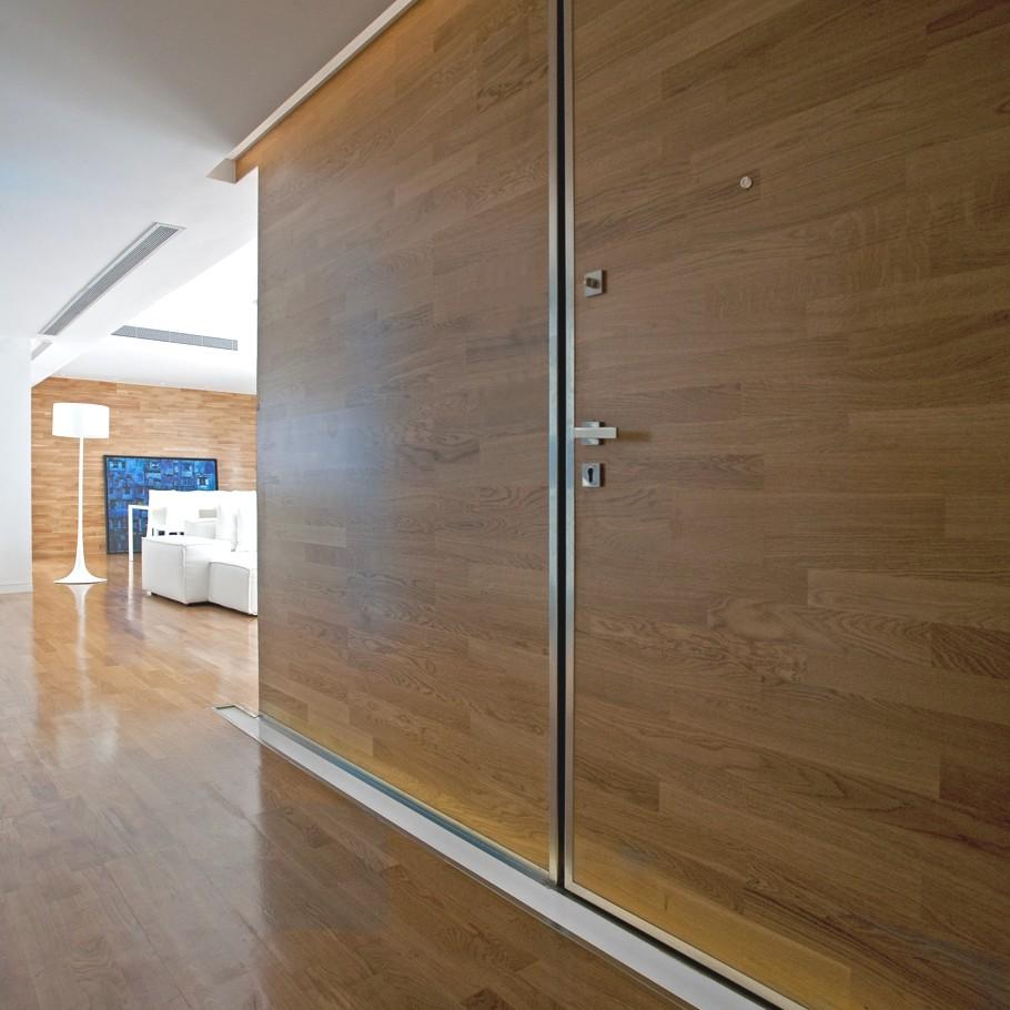 Минималистский дизайн-проект квартиры