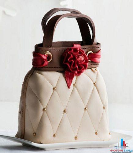 Re: Торты: женские сумочки и туфельки.