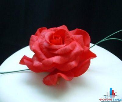 Пошаговые розы