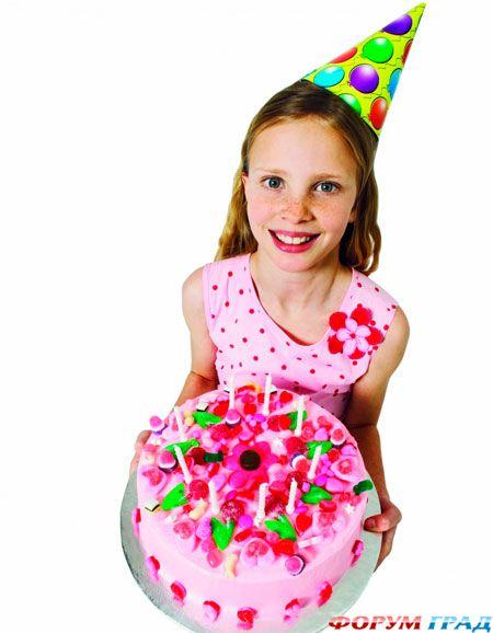 как украсить детский стол на день рождения меню.