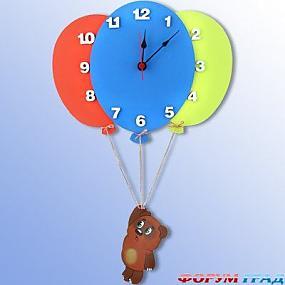 Дизайн детской с часами