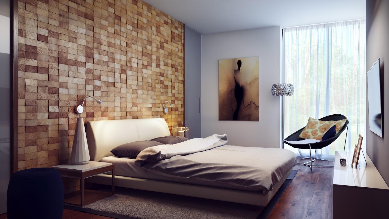 Дизайн стены в квартире