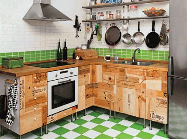 Необычная мебель для кухни своими руками