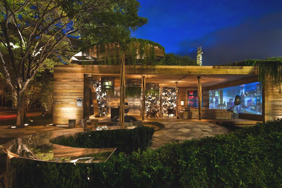 Роскошный эко-чердак стильный проект для выставки Casa Cor 2010