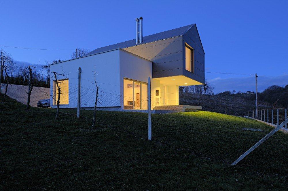 Интересные проекты домов: оригинальный GV-17 от хорватских архитекторов