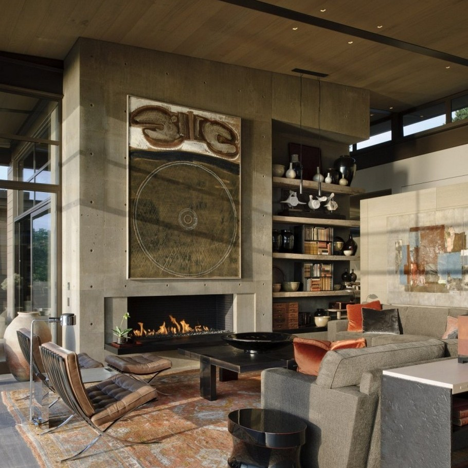 Авторские дома: Washington Park Residence с элементами конструктивизма и этники