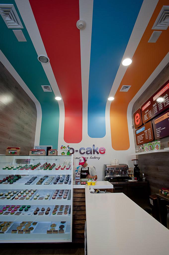 Яркая и уютная пекарня O-CACE в Колумбии