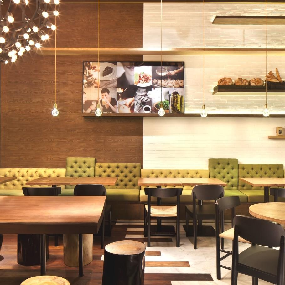 Флёр вечернего Шанхая восхитительный дизайн кофейни gaga