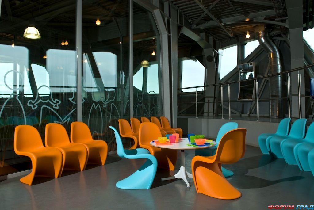 Кафе в отеле Atomium Kidsphere