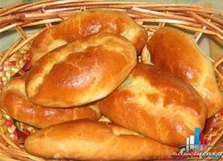 Пирожки с рисом, луком и яйцом - кулинарный рецепт