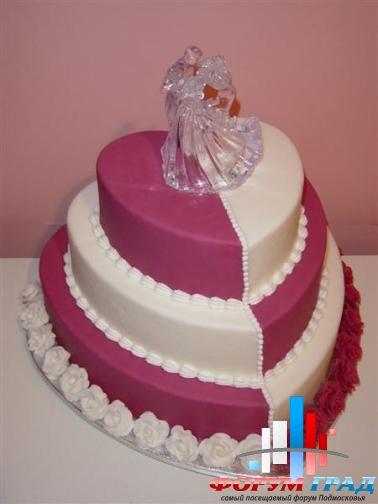 Заказать торт в виде сердца торт
