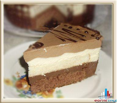 Торты суфле три шоколада