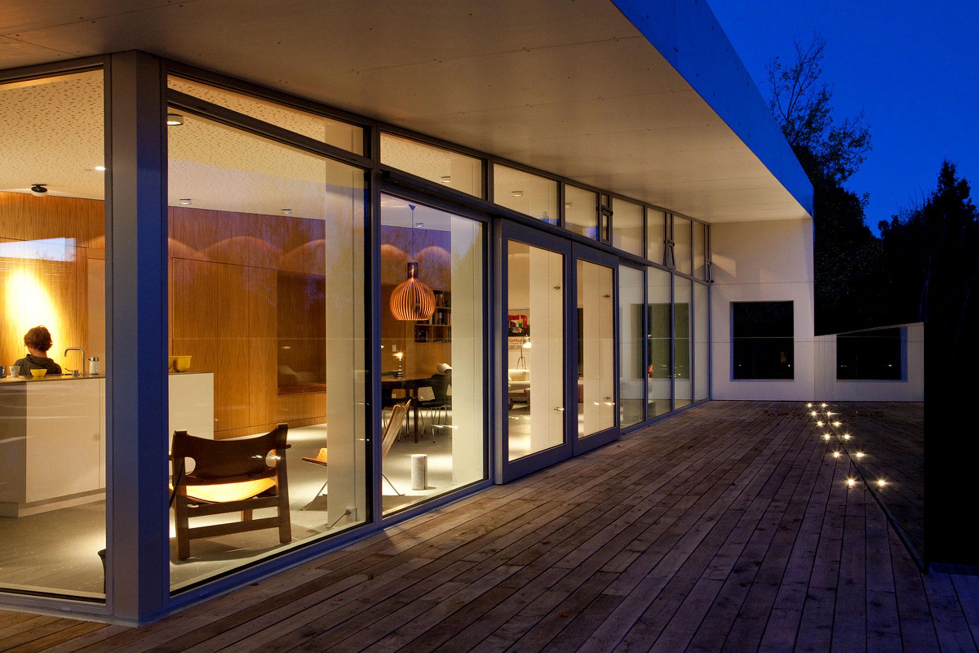 Великолепный загородный дом с утончённой архитектурой