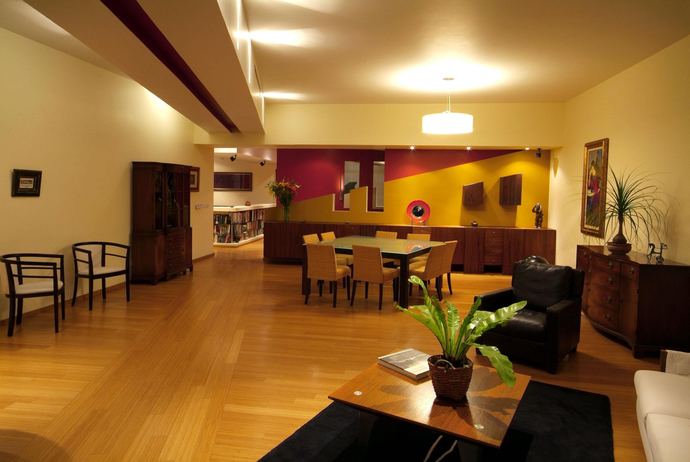 Интерьер квартиры от din interiorismo