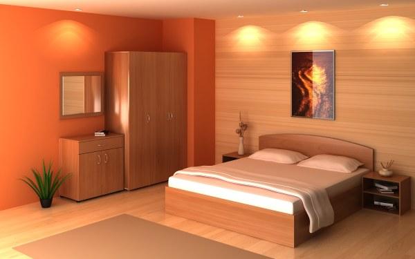 выбор фото в спальне по фен шуй один вариант