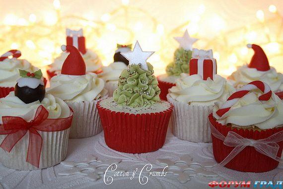 Кексы рождественские