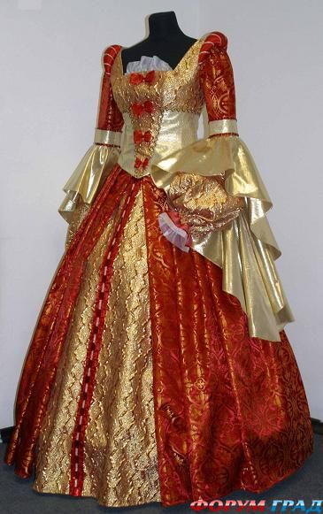 Платья 17 века фото новые платья 2012